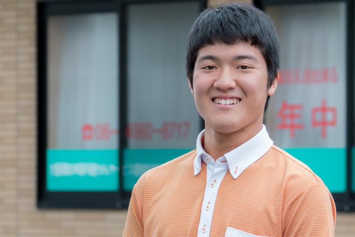 【JOBS STORY】 高校生アルバイトの 新たな選択肢となる 「ケアサポーター」