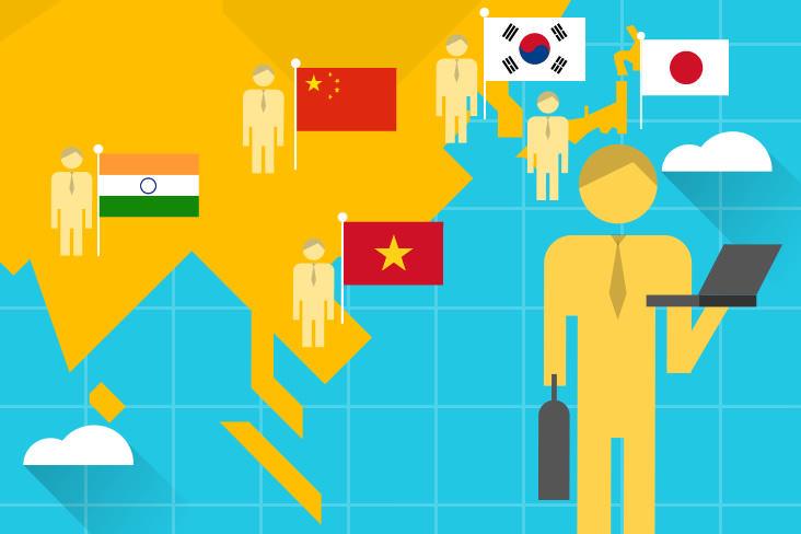 あなたはどの国に共感する?アジア5カ国の若手ビジネスパーソンの職業観の違い